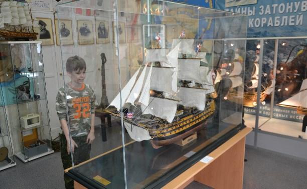 В «Юнге» открылась выставка тульских судомоделистов «Знаменитые парусники»
