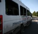 За Косогорским мостом столкнулись пассажирский автобус и грузовик