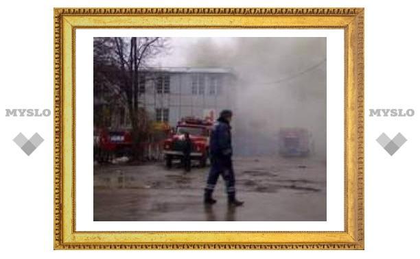 Пожар в Пролетарском районе Тулы ликвидирован