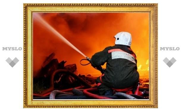 Под Тулой сожгли два дома