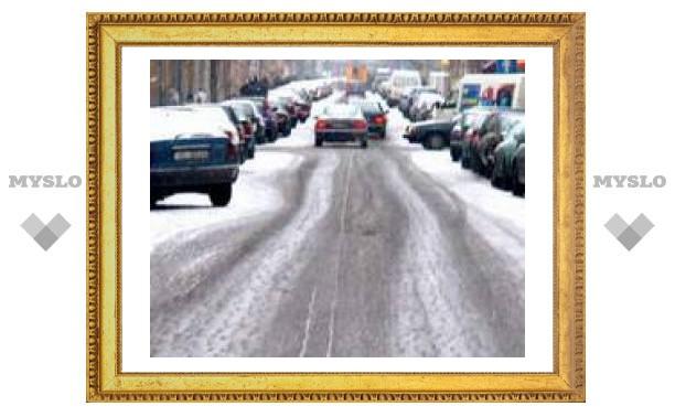 Ситуация на дорогах Тулы: пробок нет