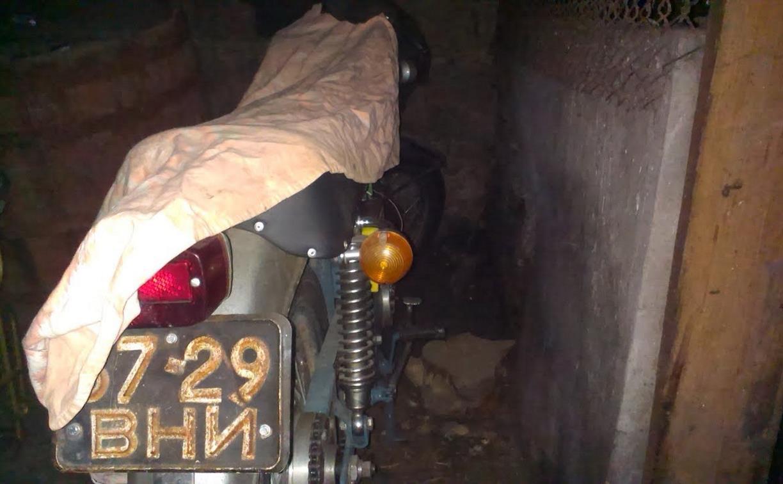 В Суворове 18-летний парень украл из сарая «ИЖ»