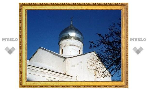 Кладбище храма Дмитрия Солунского затопили отходами