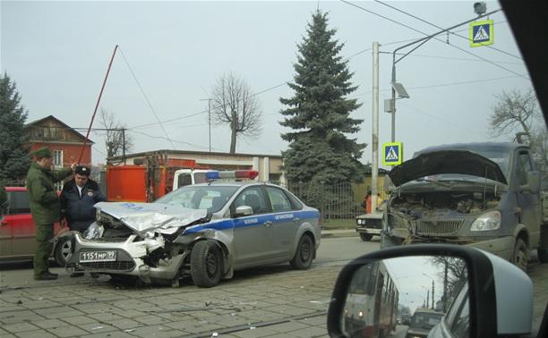 На ул. Оборонной столкнулись ВАИ и «Газель»