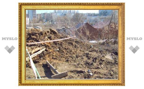 Улица Фурманова тонет в грязи!