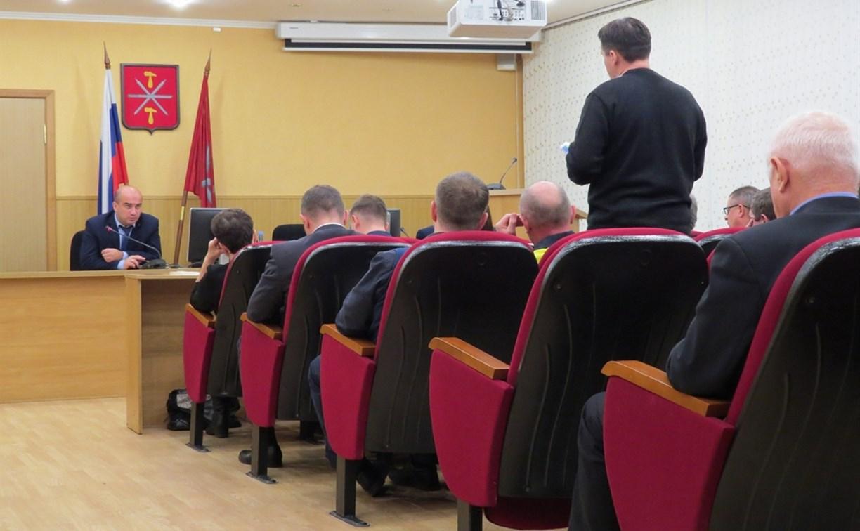 Состоялось совещание с представителями ресурсоснабжающих организаций и управляющих компаний
