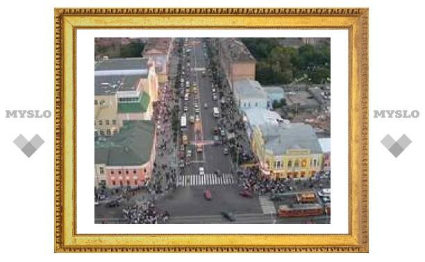 В Туле продолжается ремонт проспекта Ленина
