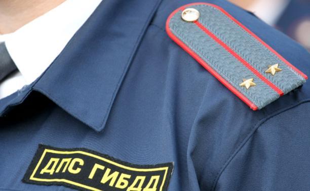 Житель Суворова напал на сотрудника ДПС
