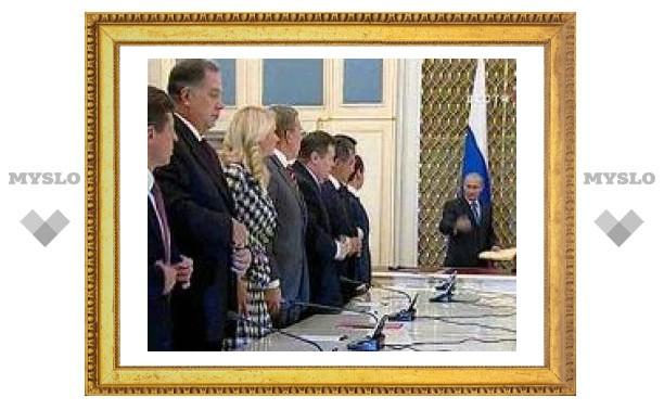 Путин обнародовал новый кабинет министров
