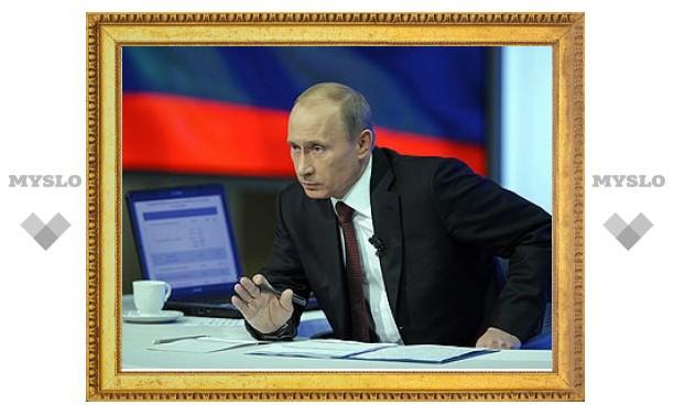 """Time раскрыл сценарий """"прямой линии"""" Путина"""