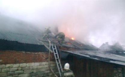 В Веневском районе из-за короткого замыкания сгорел частный дом