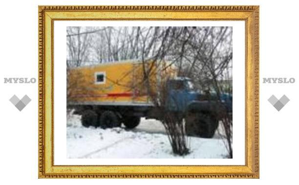В проезде Тимирязева потоп