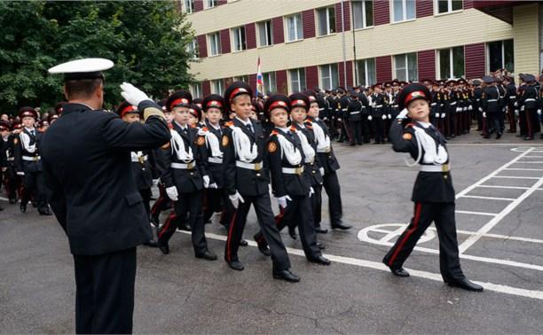В Первомайском кадетском корпусе подготовят юных полицейских и спасателей