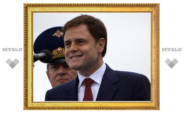 Владимир Груздев проводил полицейских на Кавказ