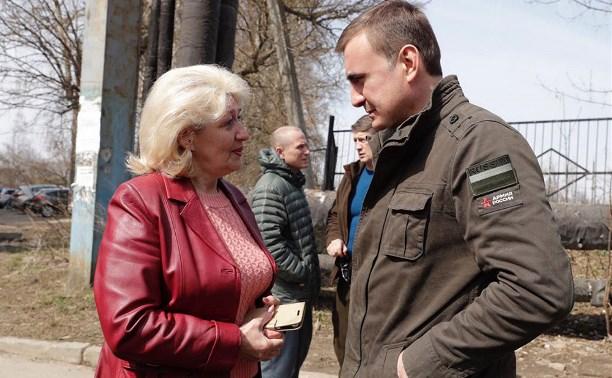 Алексей Дюмин рассказал тулякам о реформировании рынка управляющих компаний