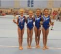 Тульские гимнастки отличились в Воронеже