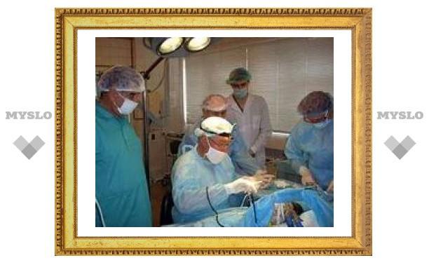 В Тульской области проведены уникальные операции
