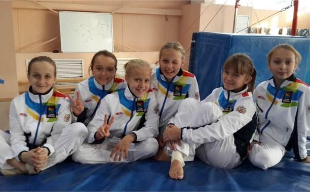 Сборная Тульской области по гимнастике отличилась на Всероссийских соревнованиях