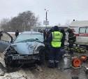 В Новомосковске в ДТП с автобусом погиб мужчина