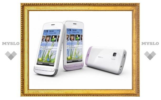 Nokia выпустила бюджетный смартфон с сенсорным экраном