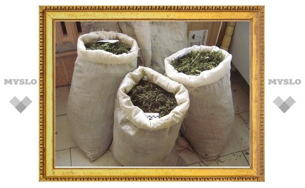 В Туле изъято 72 килограмма наркотиков