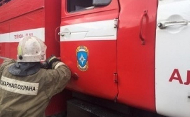 В Веневском районе пенсионер лишился жилья из-за пожара
