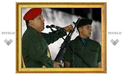Уго Чавес прилетел в Москву