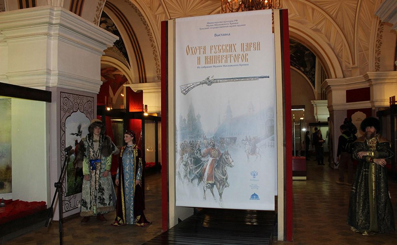 В музее оружия открылась выставка собрания Музеев Московского кремля