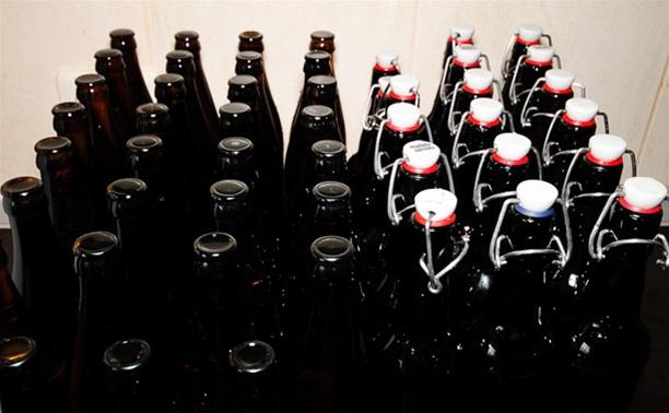 Полицейские изъяли из палаток почти 100 литров пива