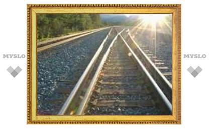 Ели вдоль железной дороги
