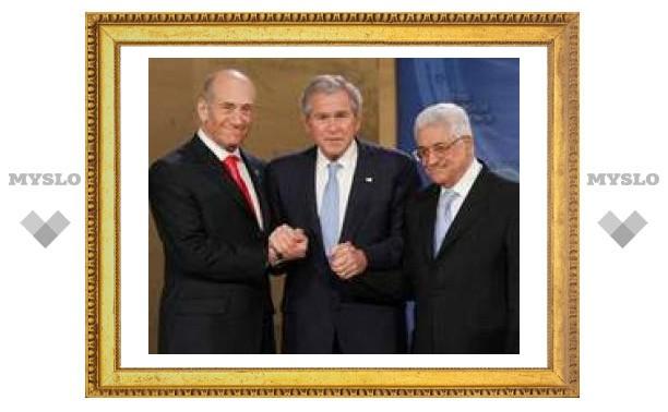 Ближневосточный саммит в Аннаполисе начался с благих пожеланий