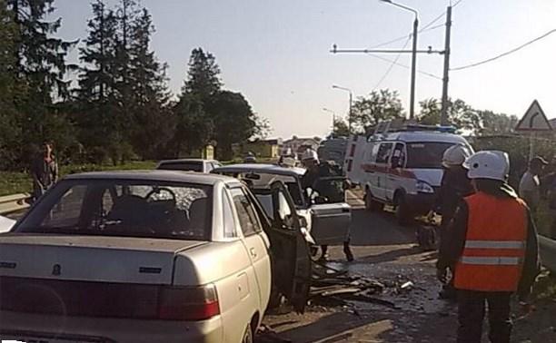 В лобовом ДТП в Дубенском районе пострадали двое мужчин