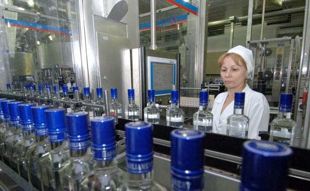 В 2014 году производство водки в России сократилось почти на четверть