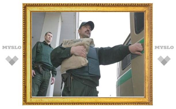 В центре Москвы ограбили инкассаторов