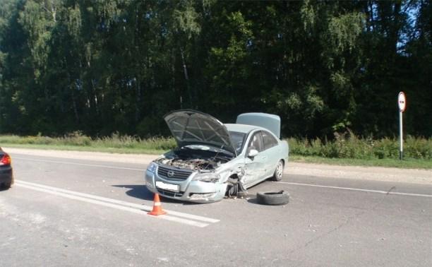 Из-за ДТП на Новомосковском шоссе образовалась автомобильная пробка