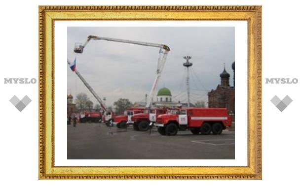 В Туле празднуют День пожарной охраны
