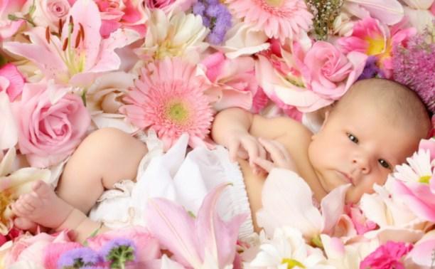 В июле в Туле родились 614 малышей