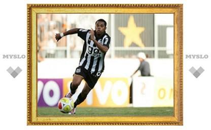 Робиньо забил гол в первом матче за новый клуб