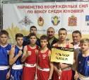 Тульские боксеры привезли медали с первенства Вооруженных Сил РФ
