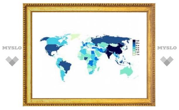 Население Земли увеличится до 7 миллиардов человек