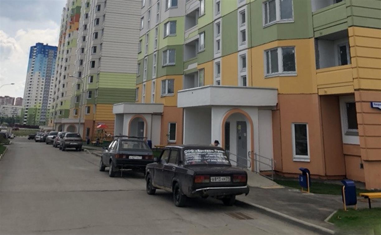 В Пролетарском округе Тулы неизвестные обстреляли десяток машин