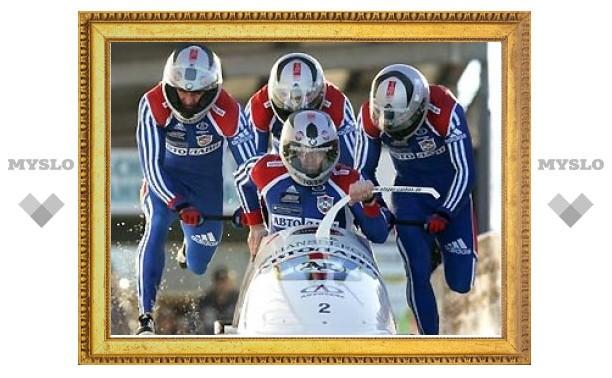 Бобслеист Абрамович побил рекорд олимпийской трассы в Ванкувере