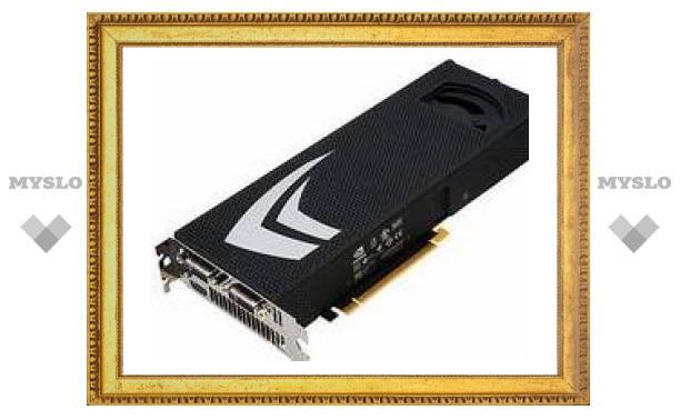 Nvidia выпустит видеокарту GTX 295 в январе