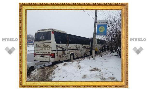 Тульские сотрудники ГИБДД спасли 90 детей из Москвы