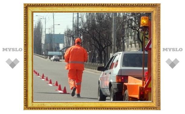 На пяти тульских улицах начался ремонт