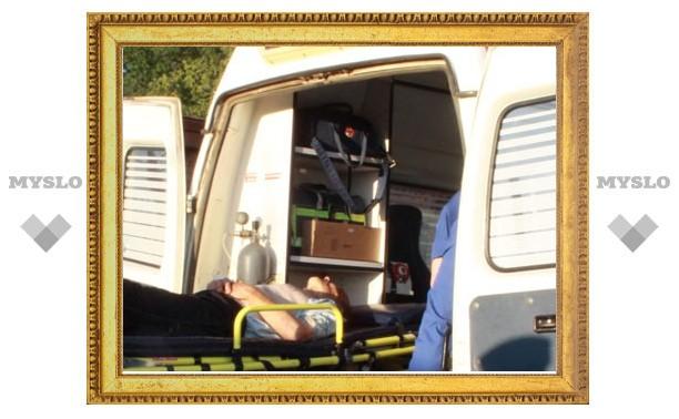 В Новомосковске рядом с кафе ранен сотрудник ГИБДД