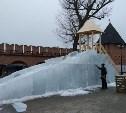 В Тульском кремле появилась ледяная горка и «Кремленок»