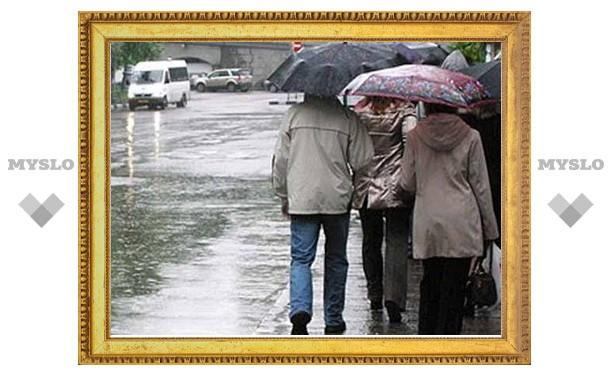 В Туле на смену дождям придет похолодание