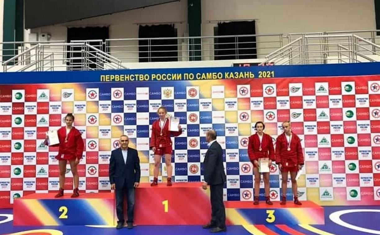 Тулячка стала бронзовым призером первенства России по самбо