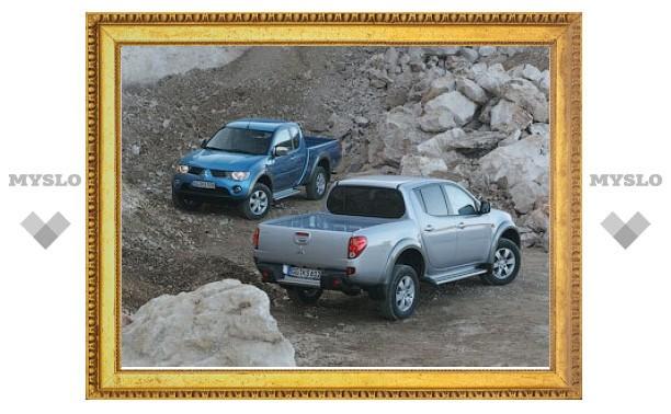 Российские пикапы Mitsubishi L200 получат мощный дизель